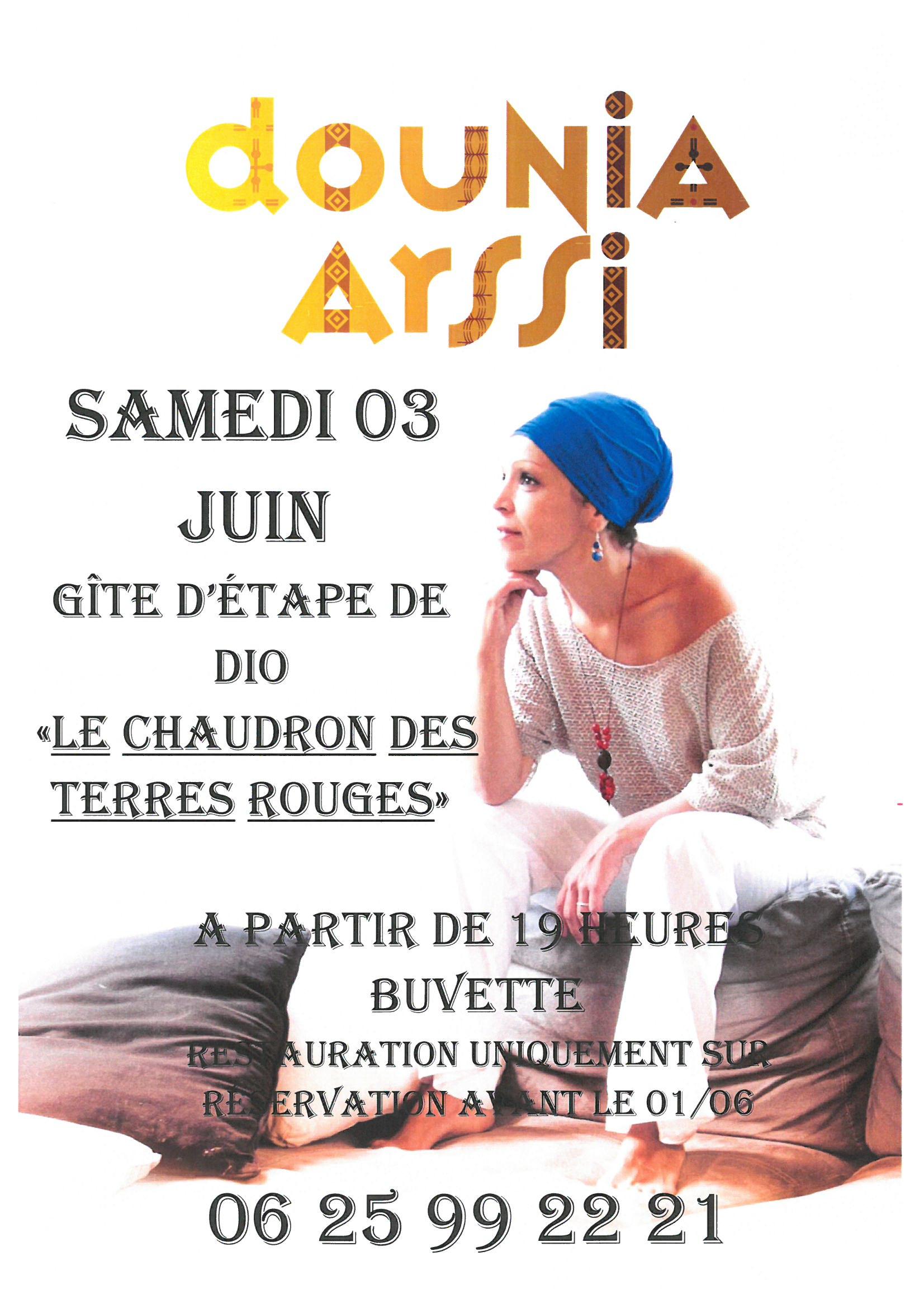 Concert de Dounia Assri
