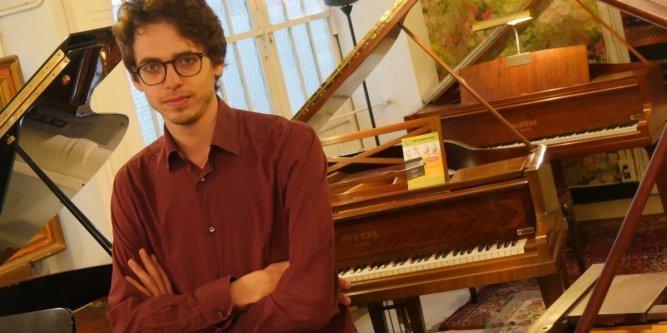 Concert de Lucas Debargue au château de Dio