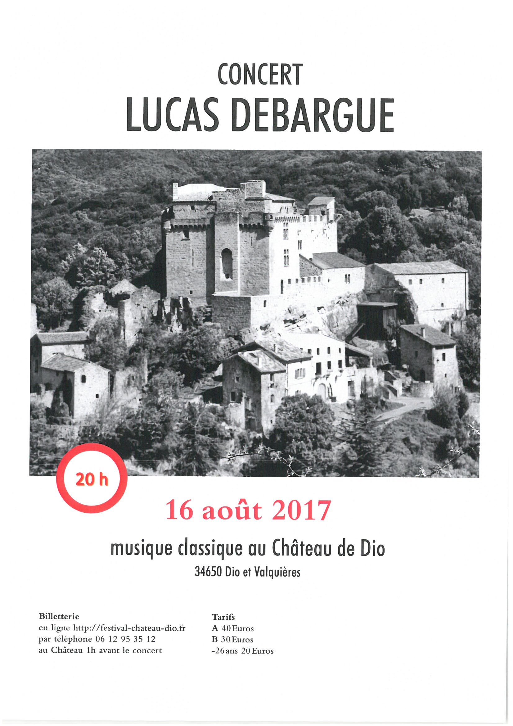Festival musique classique 16 août 2017