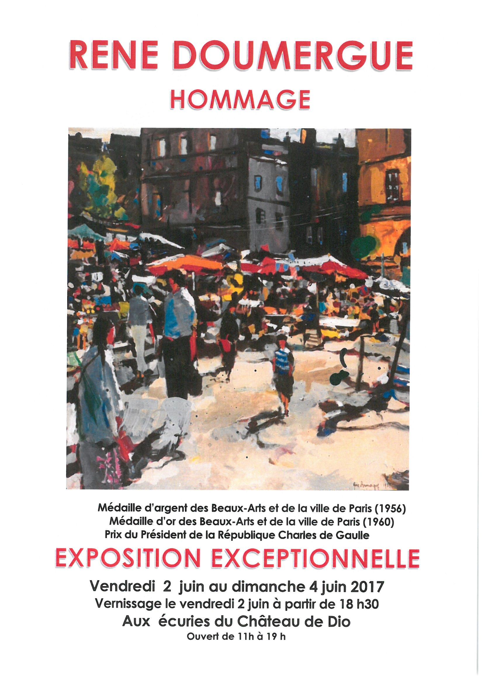 Hommage à René DOUMERGUE